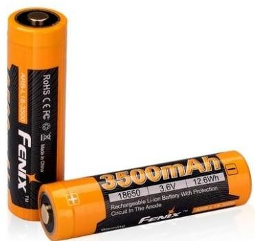 ARB-L18-3500 Аккумулятор fenix 18650 rechargeable li-ion battery