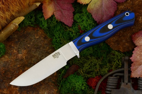 Нож Gameskeeper Blue&Black G10 Bark River