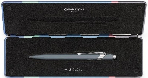 Шариковая ручка Caran d`Ache Office 849 Paul Smith, Slate Grey