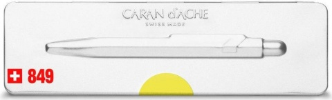 Шариковая ручка Caran d`Ache Office 849 Popline, Yellow