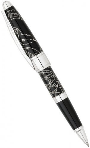 Ручка-роллер Cross Apogee Special Edition Year of the Snake 2013, China Black Lacquer CT