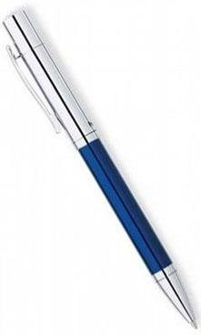 Шариковая ручка Cross Penatia Greenwich, Blue / Chrome CT