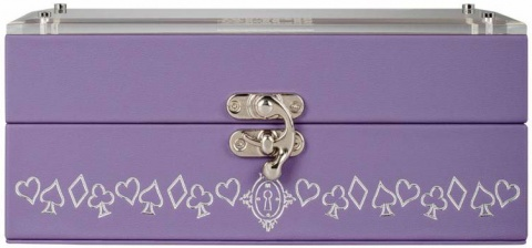 Шариковая ручка Cross Sauvage Disney Alice in Wonderland,  Lavender / Chrome