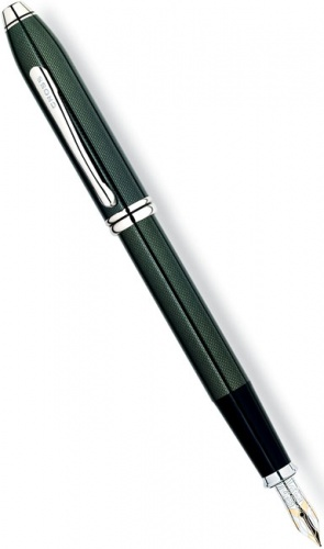 Перьевая ручка Cross Townsend, Emerald Lacquer