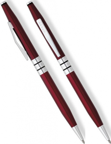 Шариковая ручка Cross Spire, Red Lacquer