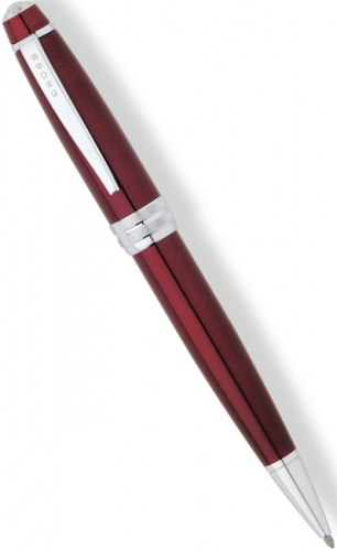 Шариковая ручка Cross Bailey, Red Lacquer CT