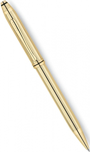 Шариковая ручка Cross Townsend, 18Ct Rolled Gold