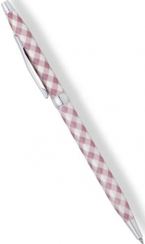 Шариковая ручка Cross Classic Century Colours, Tender Rose Gingham CT