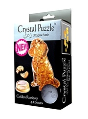 3D головоломка Лабрадор Crystal Puzzle