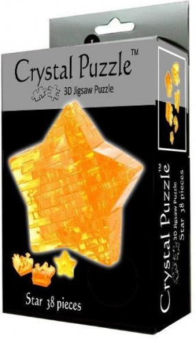 3D головоломка Звезда Crystal Puzzle