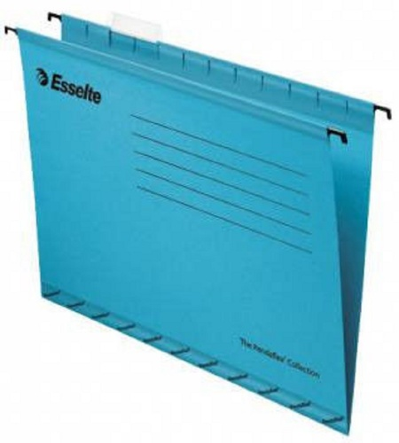 Подвесная папка ESSELTE PENDAFLEX PLUS FOOLSCAP, 25 шт, синий, цена за 1шт