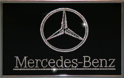 Mercedes Giftcrystal