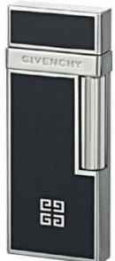 Зажигалка Givenchy Lighter Black Lacquer, Dia-Silver