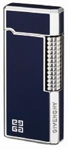 Зажигалка Givenchy Lighter DIA-SILVER, BLUE LACQUER