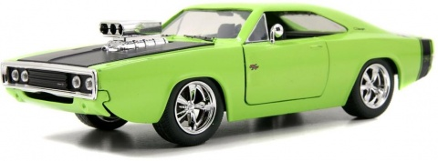 Автомобиль 1970 Dodge Charger - Blown Engine - KMC Wheel 1:24 Jada Toys