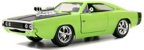 Автомобиль 1970 Dodge Charger -Blown Engine- KMC Wheel Jada Toys