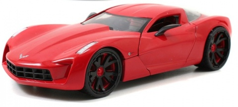Автомобиль Corvette Stingray (2009) 1:24