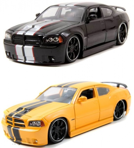 Автомобиль Dodge Charger SRT10 (2006) 1:24 Jada Toys