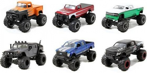Автомобиль Just Tracks assortiment 1:64 Jada Toys