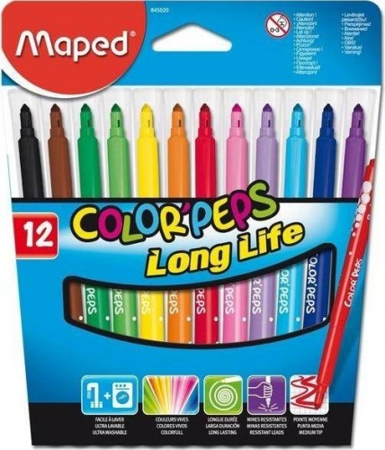 ���������� COLOR PEPS, � �����, ������,, ������� �����, ���������, � ������, �������, 12 ��, MAPED