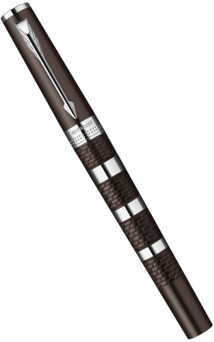 Ручка 5й пишущий узел Parker Индженьюити Large F501, Brown Metal and Rubber CT