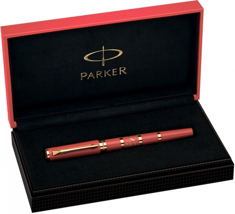 Ручка-5й пишущий узел Parker Ingenuity Large F502 Limited Edition, Red Dragon GT