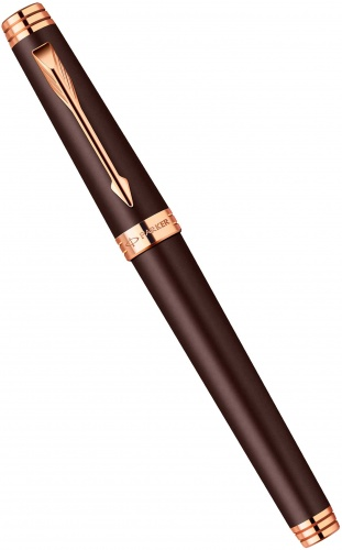 Ручка-роллер Parker Premier T560, Soft Brown PGT