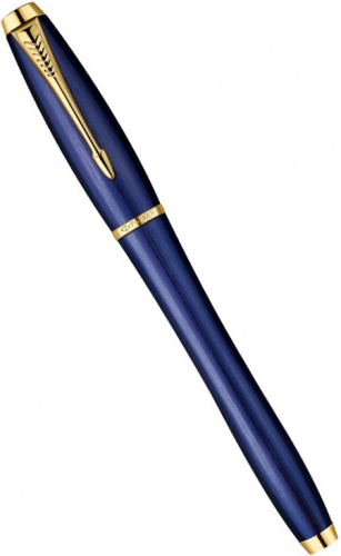 Перьевая ручка Parker Urban F205 Premium Historical Colors, Purple Blue GT (Перо F)
