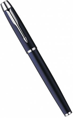 Перьевая ручка Parker IM Metal F221, Deep Blue CT (перо M)