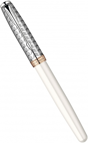 Перьевая ручка Parker Sonnet F540 Feminine Collection, Metal and Pearl GT (перо F)