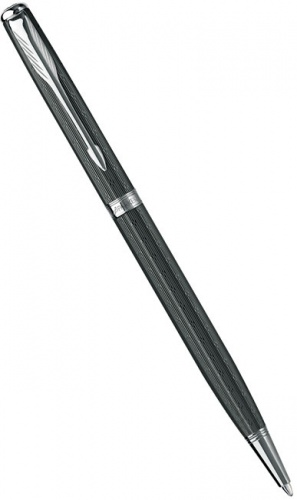 Шариковая ручка Parker Sonnet Slim Chiselled K450, Carbon CT
