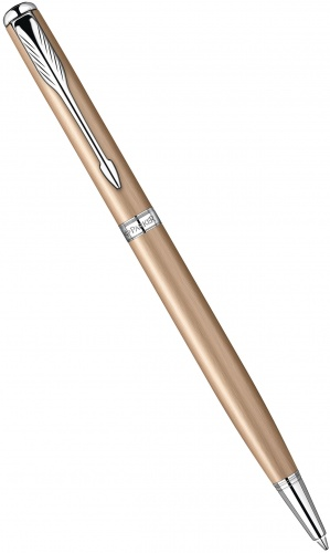 Шариковая ручка Parker Sonnet Slim K440 Feminine Collection, Pink Gold CT