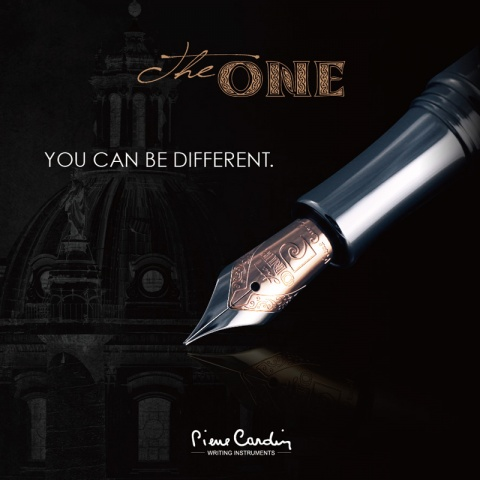 Ручка перьевая Pierre Cardin The One, Silver (Перо M)