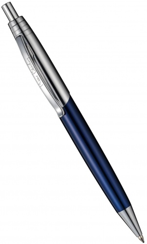 Ручка шариковая Easy Pierre Cardin, Lacquer Blue / Silver CT