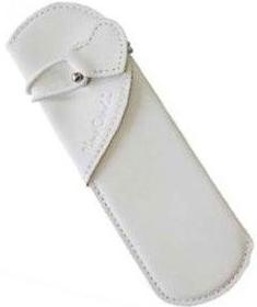 Шариковая ручка Pierre Cardin Leather, With Love, White / Pink
