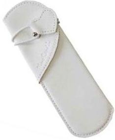 Шариковая ручка Pierre Cardin Leather, With Love, White / Turquoise
