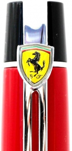 Шариковая ручка Sheaffer Taranis, Ferrari Rosso Corsa Barrel / Cap CT