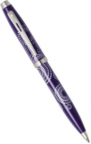 Шариковая ручка Sheaffer 100, Glossy Purple Pattern CT