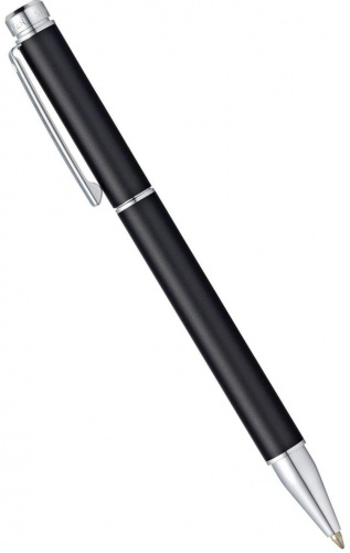 Ручка-роллер Sheaffer 200, Black Metallic Matte CT