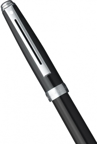 Перьевая ручка Sheaffer Prelude, Gloss Black Nickel CT (Перо F)