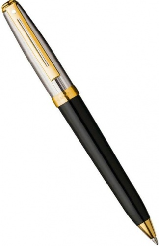 Шариковая ручка Sheaffer Prelude, Palladium Plated Cap Black Barrel GT