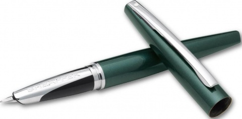 Перьевая ручка Sheaffer Taranis, Metalliс Green Fine CT (Перо F)