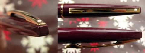 Шариковая ручка Sheaffer Taranis, Stormy Wine GT