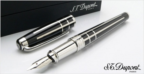 Ручка перьевая Ligne Olympio Medium S.T.Dupont, Black