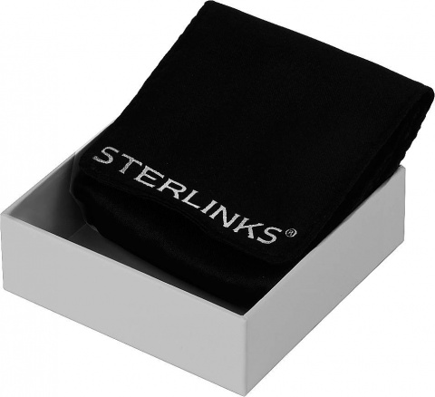 Подвеска Black Color glam Sterlinks