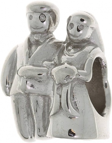 Подвеска Bride and groom Silver symbols Sterlinks