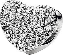 Подвеска Happy heart Silver symbols Sterlinks