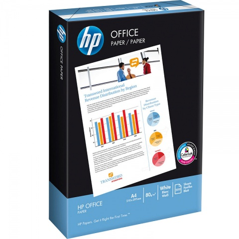 ������ HP OFFICE PAPER, �. �4, ������� 153%, ������� 91 %, 80 �/�2, 500 �. ����������