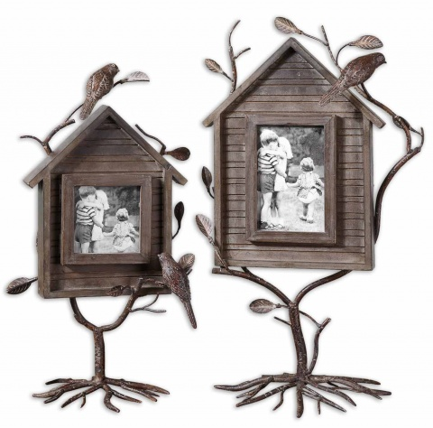 Фоторамка Bird House Photo Frames Set/2 Uttermost