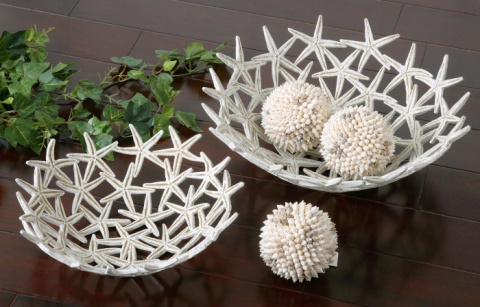 Ваза Starfish Bowls with Spheres Uttermost